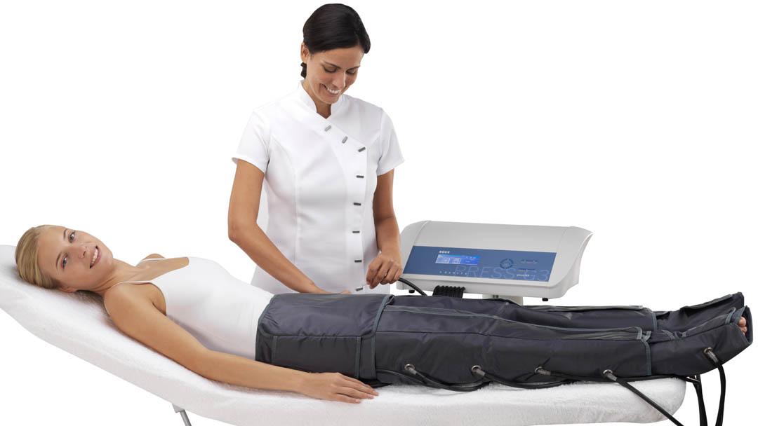 Imagen tratamiento presoterapia Press G3 de ROSS