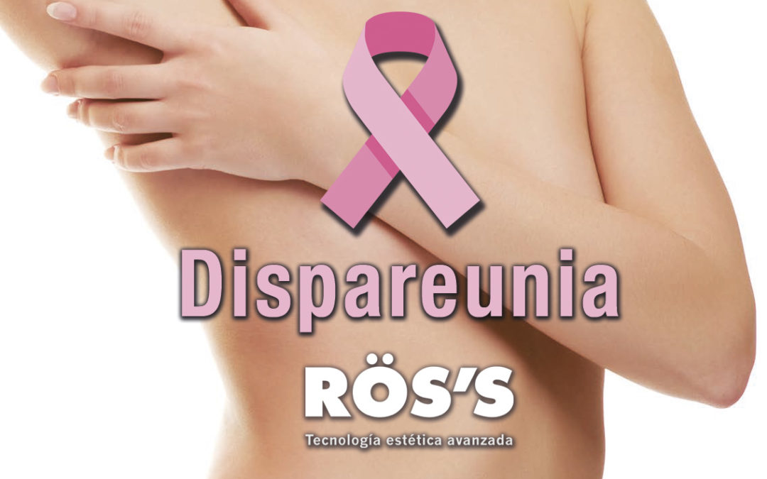 Dyspareunia, a silent pathology suffered by 20% of women with breast cancer