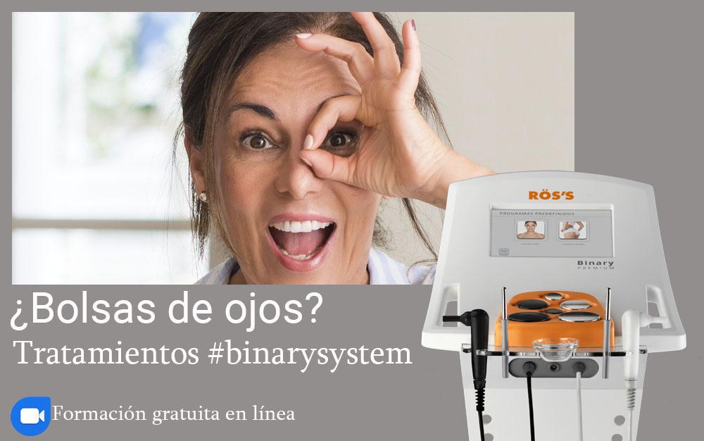 ROSS_Webinar sobre tipos y tratamientos para bolsas de ojos con Binary Sytem
