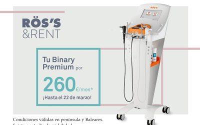 Aniversario del lanzamiento Binary Premium