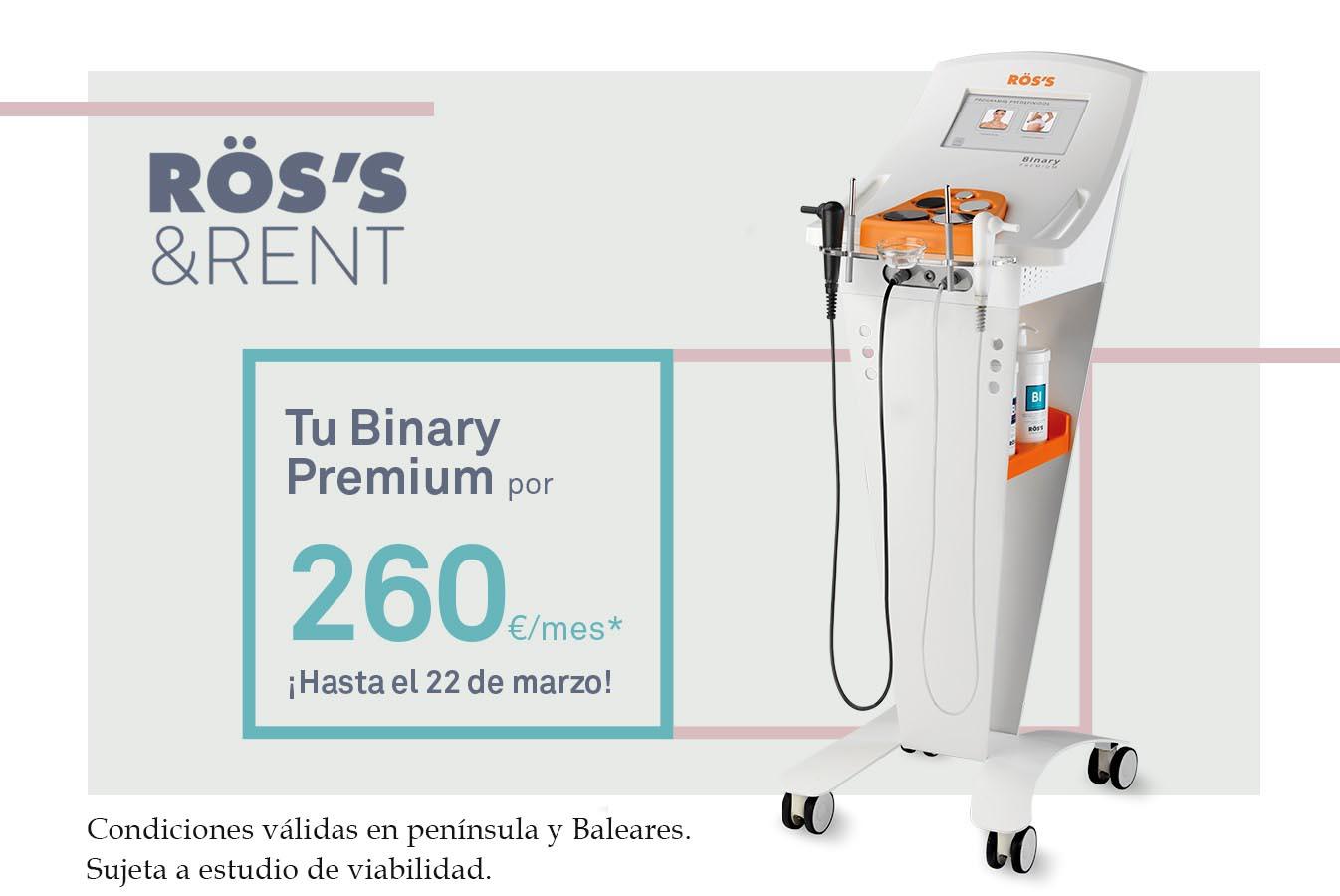 ROSS Baner promo aniversario Binary Premium