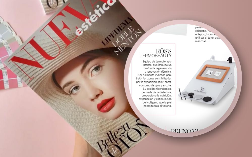 """TermoBeauty recommended as a """"Post-Summer"""" treatment by Nueva Estética"""